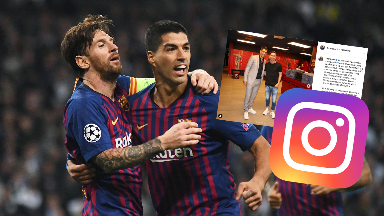 Messi Refusing To Backtrack On Barcelona Criticism With Suarez Instagram Post Balls Ie