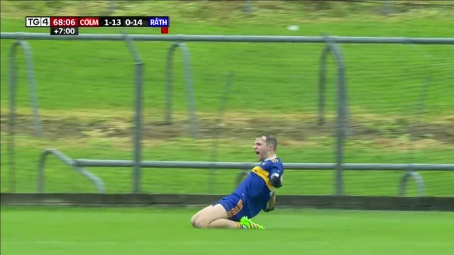 joey wallace goal ratoath gaeil colmcille meath football final 2020