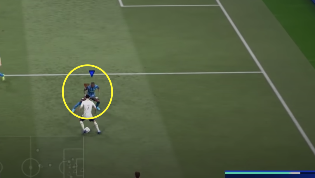 FIFA 21 defense: jockey movement