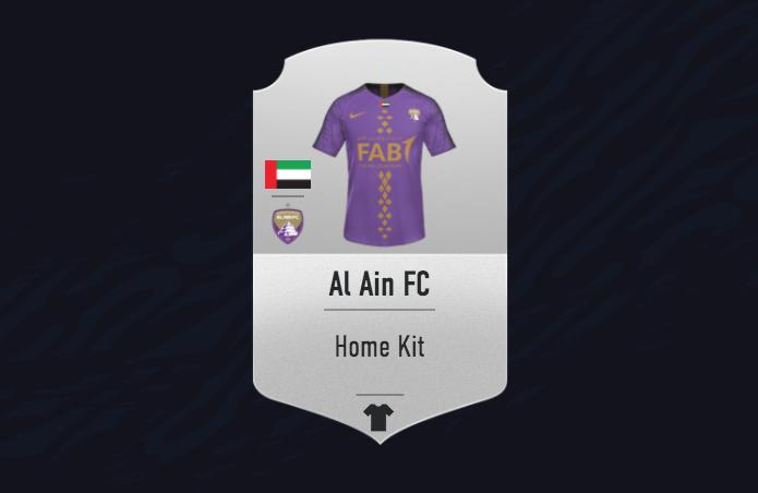 FIFA 21 Ultimate Team kits