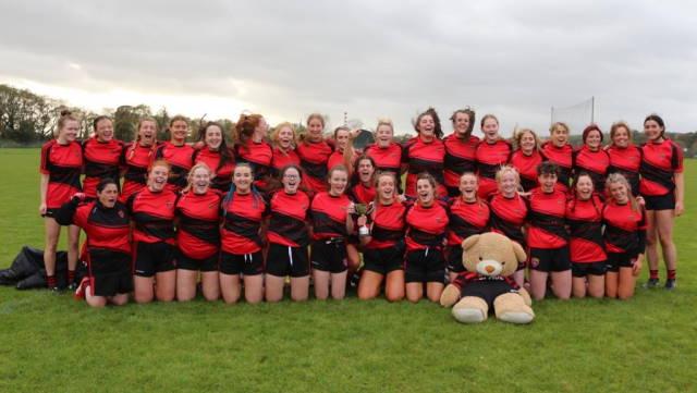 cloyne ladies football team first adult title