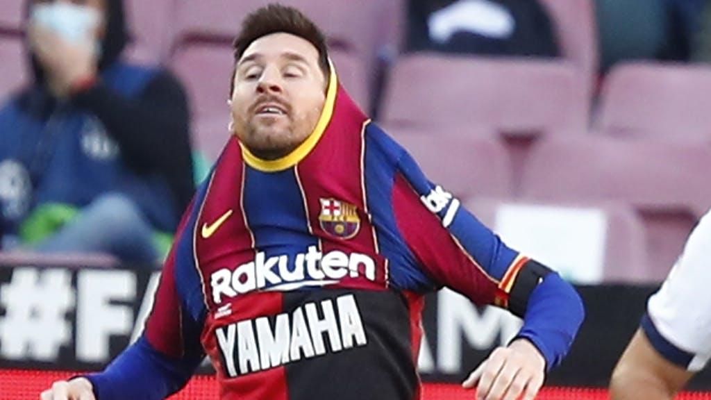 lionel messi diego maradona tribute barcelonaa