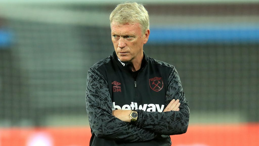 david moyes west ham not excited 40 points