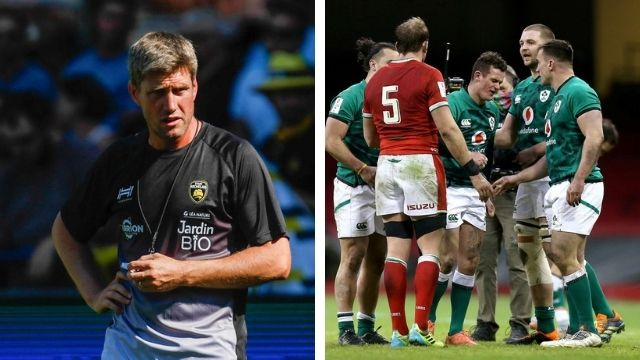 ronan o'gara billy burns kick ireland wales