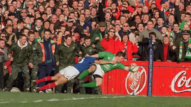 quiz name ireland team beat france 2001 six nations