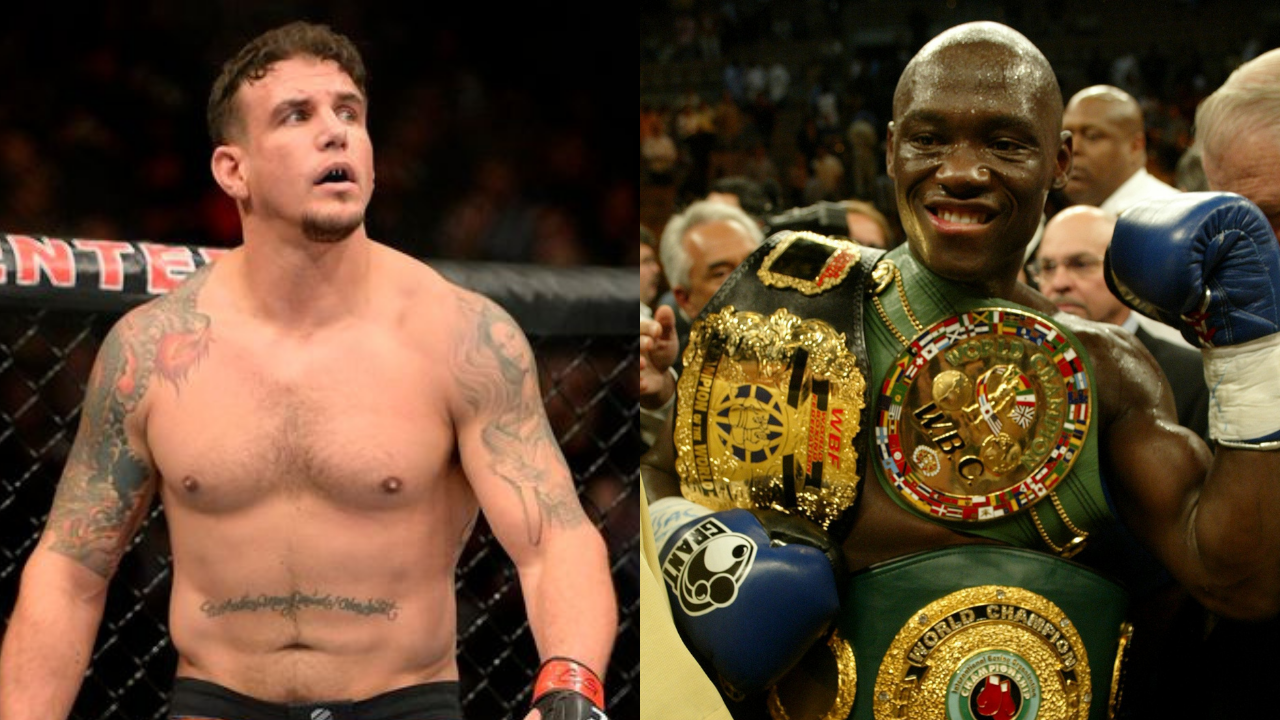 Antonio Tarver and Frank Mir