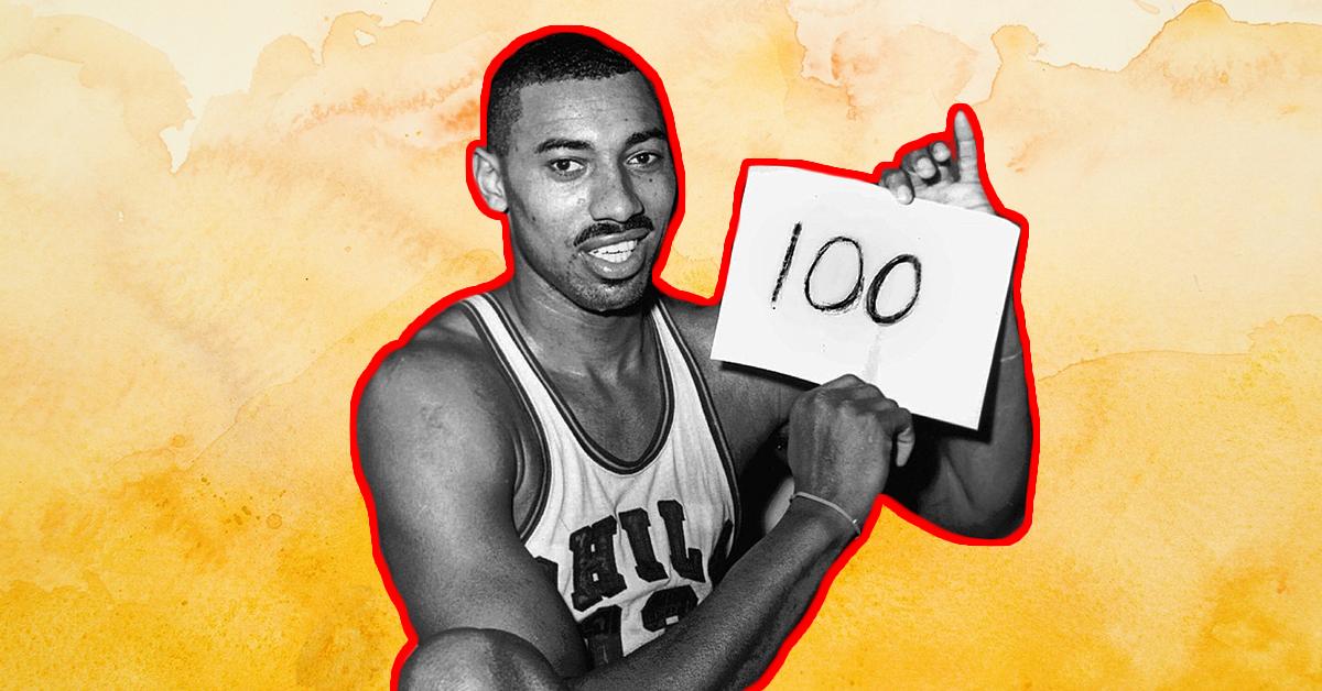 Wilt 100 point game