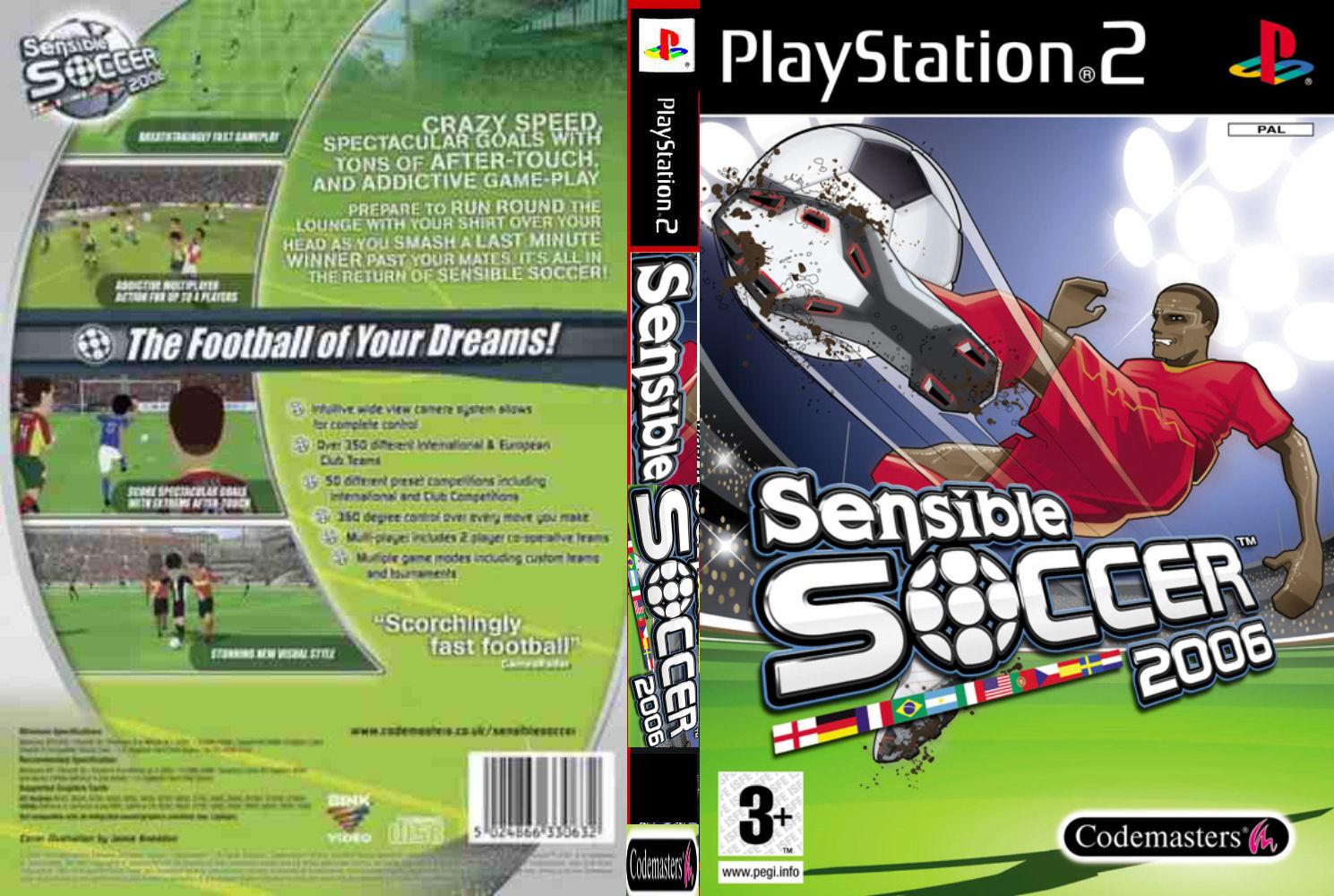 Sensible Soccer Cover