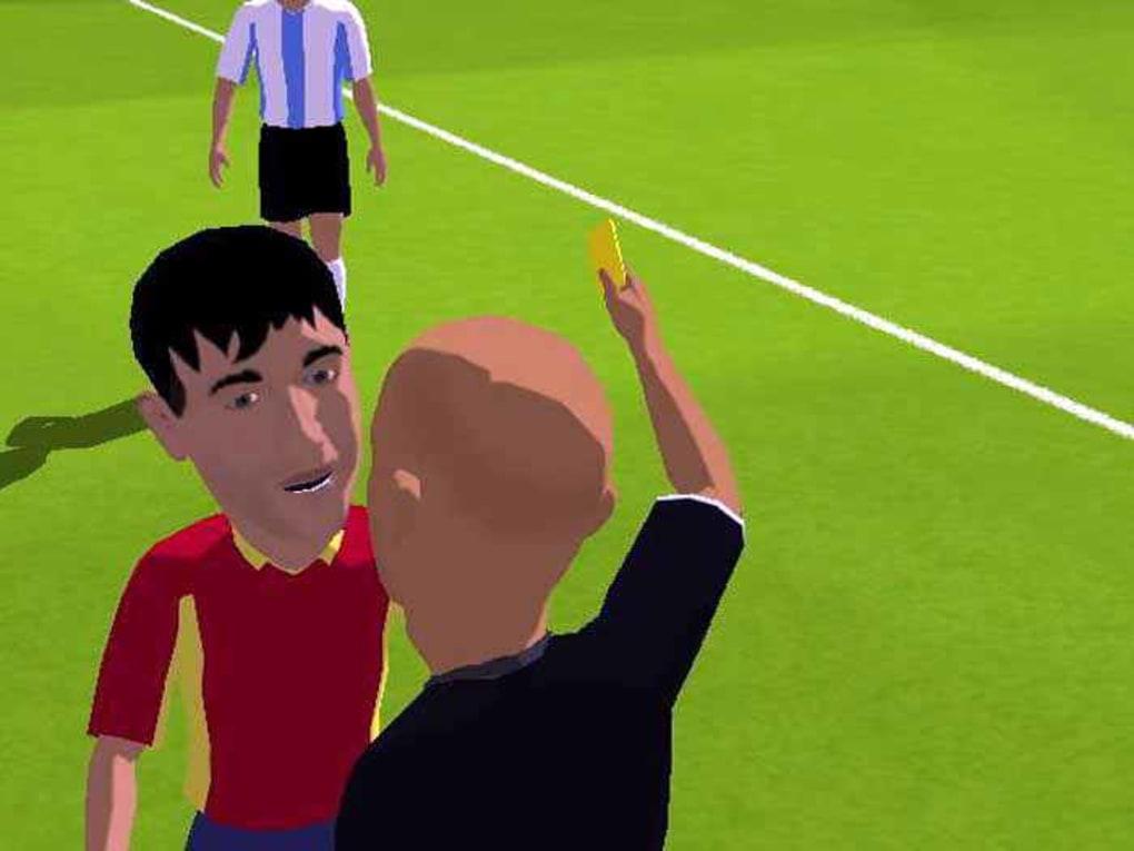 Sensible Soccer gameplay