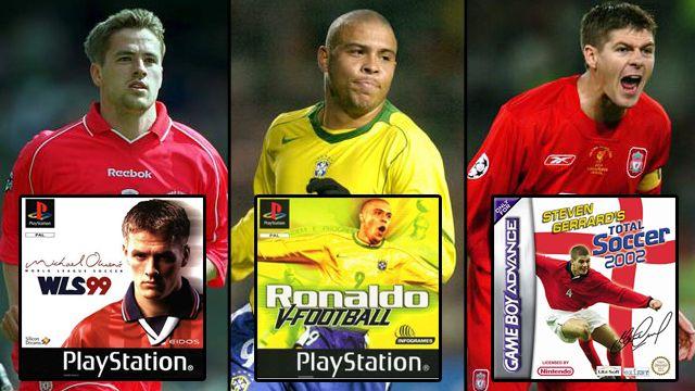 10 footballers video game