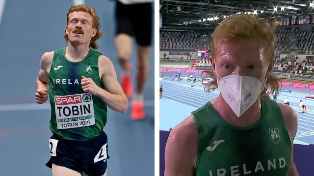 sean tobin rte interview 3000m euro indoors 2021