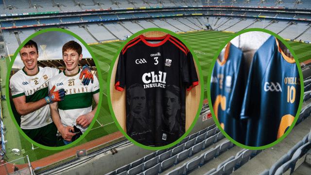 GAA commemorative jerseys