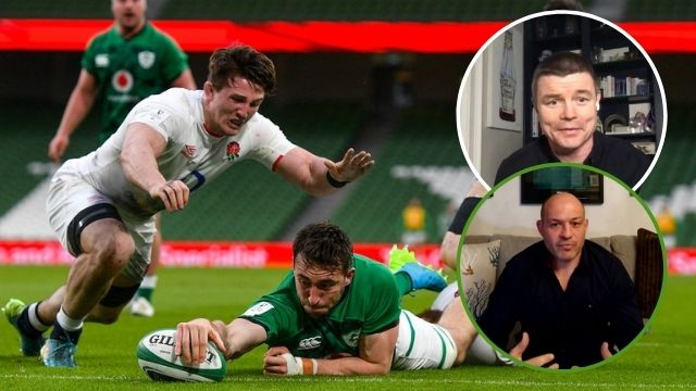 brian o'driscoll rory best ireland beat england 2021 six nations