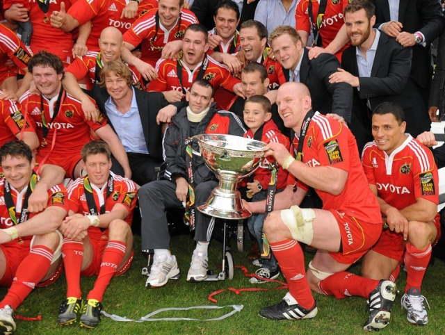 munster team 2011 magners league final