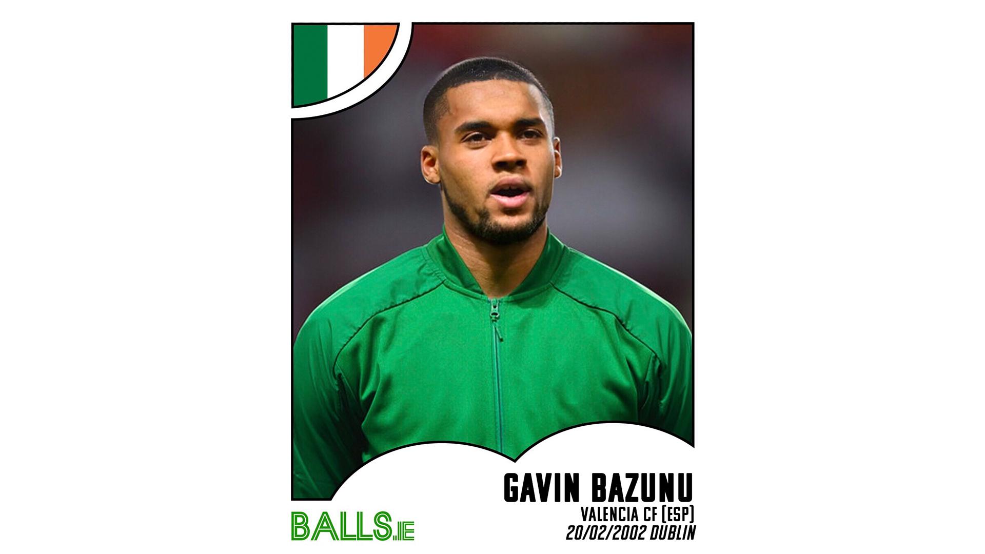 Gavin Bazunu 2030