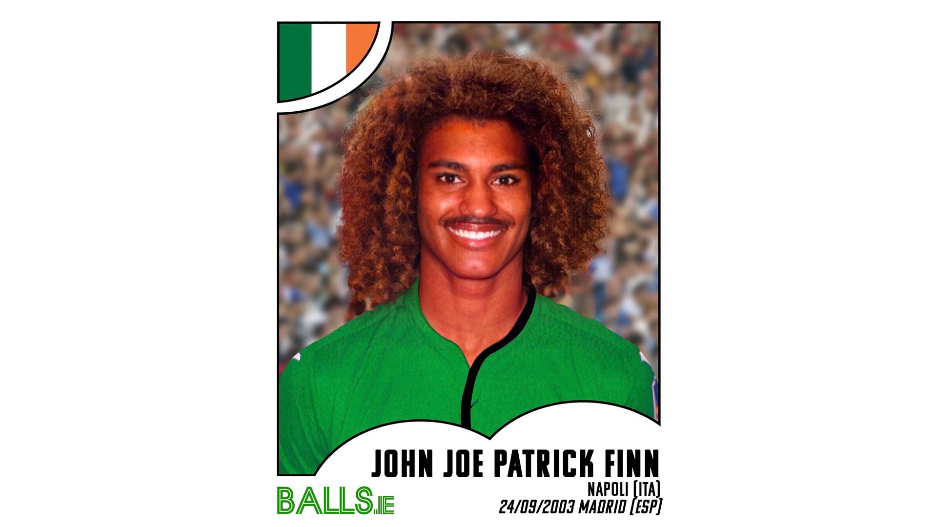 John Joe Patrick Finn 2030