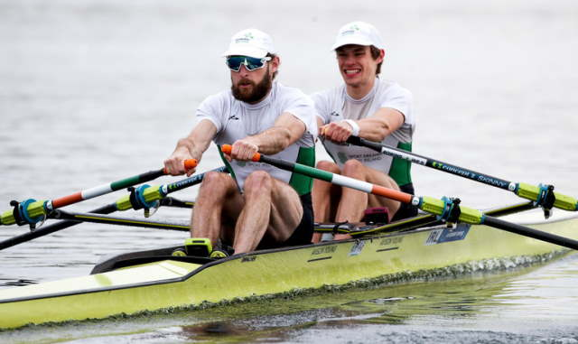 paul o'donovan fintan mccarthy gold european rowing championships