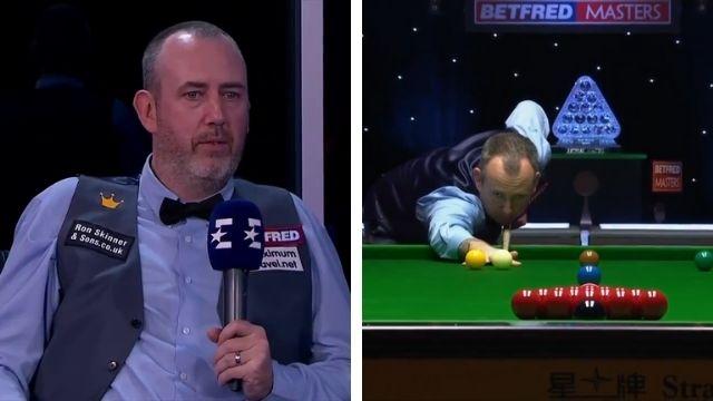 mark williams ban snooker shot
