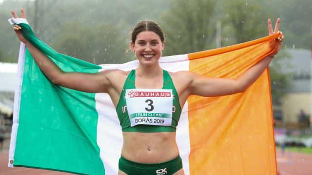 kate o'connor heptathlon irish record multistars italy