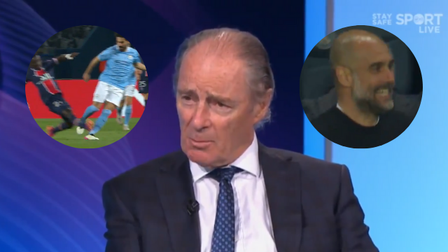 Virgin Media pundit Brian Kerr, with inserts of incidents from Wednesday's Champions League semi-final between PSG and Man City.