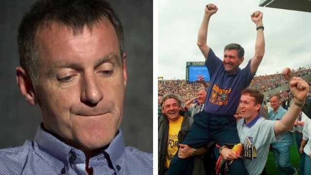 1996 all-ireland final wexford liam griffin speech laochra gael