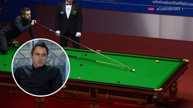 ronnie o'sullivan mark selby respotted shot