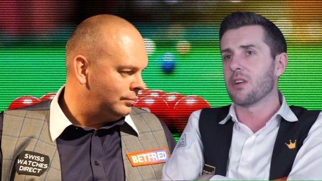 dennis taylor snooker retirement tears