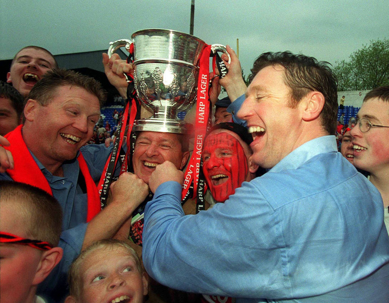 Roddy Collins Stephen Kenny Interview FAI Cup