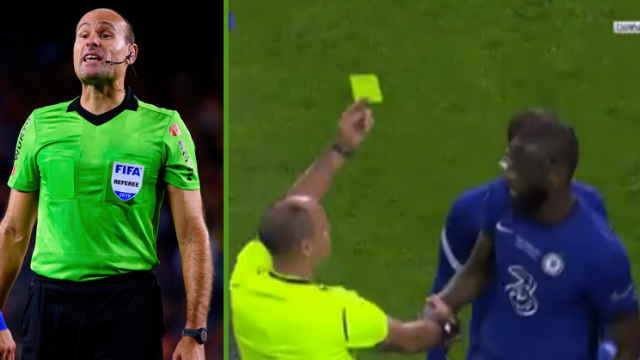 Champions League final referee