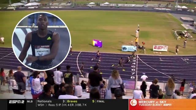 thomas barr 400m hurdles win gothenburg