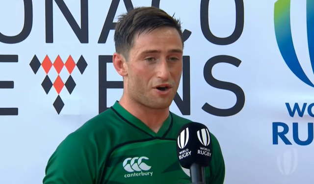 billy dardis ireland rugby sevens captain olympic qualification