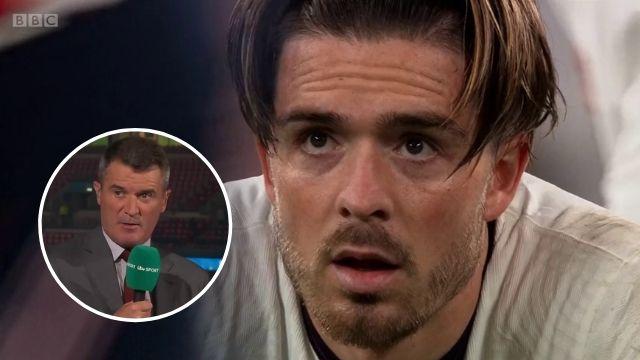 jack grealish response roy keane penalty england