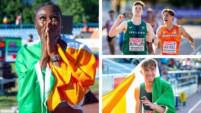 cian mcphillips rhasidat adeleke irelandinterviews euro u20 championships