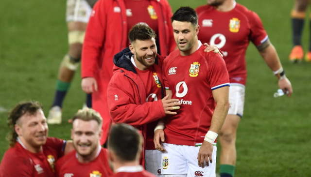lions team to play south africa second test