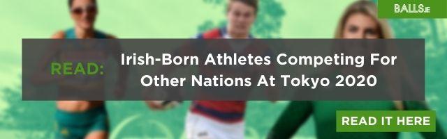 irish olympic swimming relay team interview