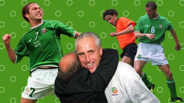 Ireland Netherlands 2001