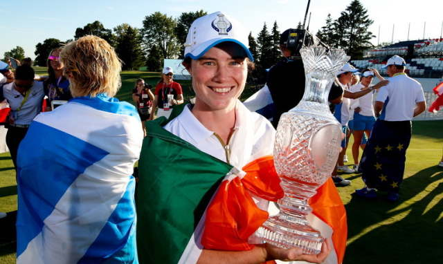 leona maguire solheim cup wildest dreams