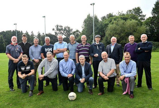 Mícheál Ó Muircheartaigh training group ucd reunion