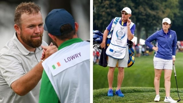 leona maguire father homecoming solheim cup