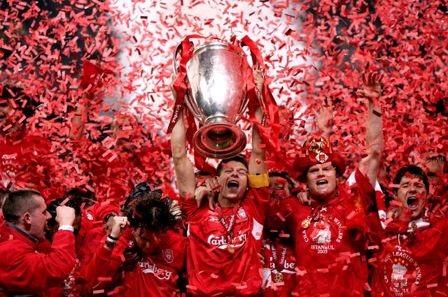 jurgen klopp tv 2005 liverpool ac milan champions league final