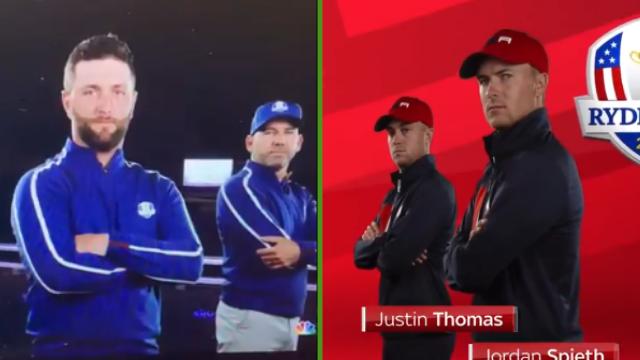 Ryder Cup holograms