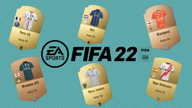 best fifa 22 kits
