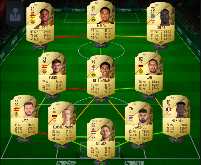 fifa 22 starter team 2